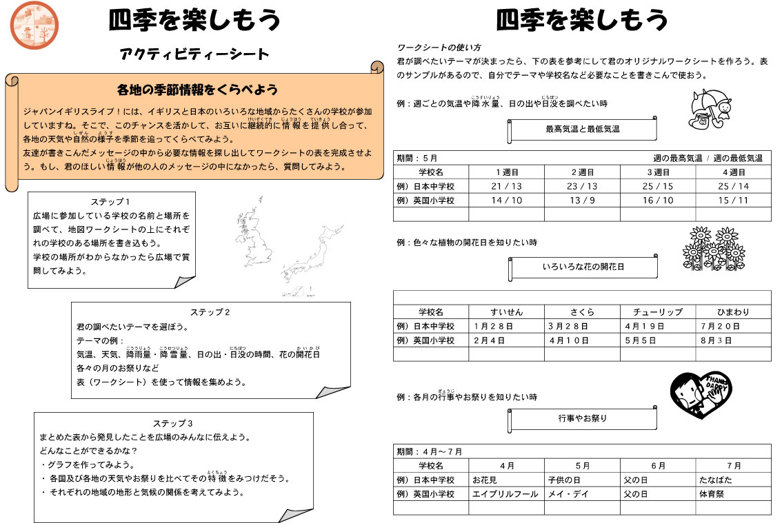 Worksheets Japanese Worksheets japan uk live homes houses collect and compare information view worksheet